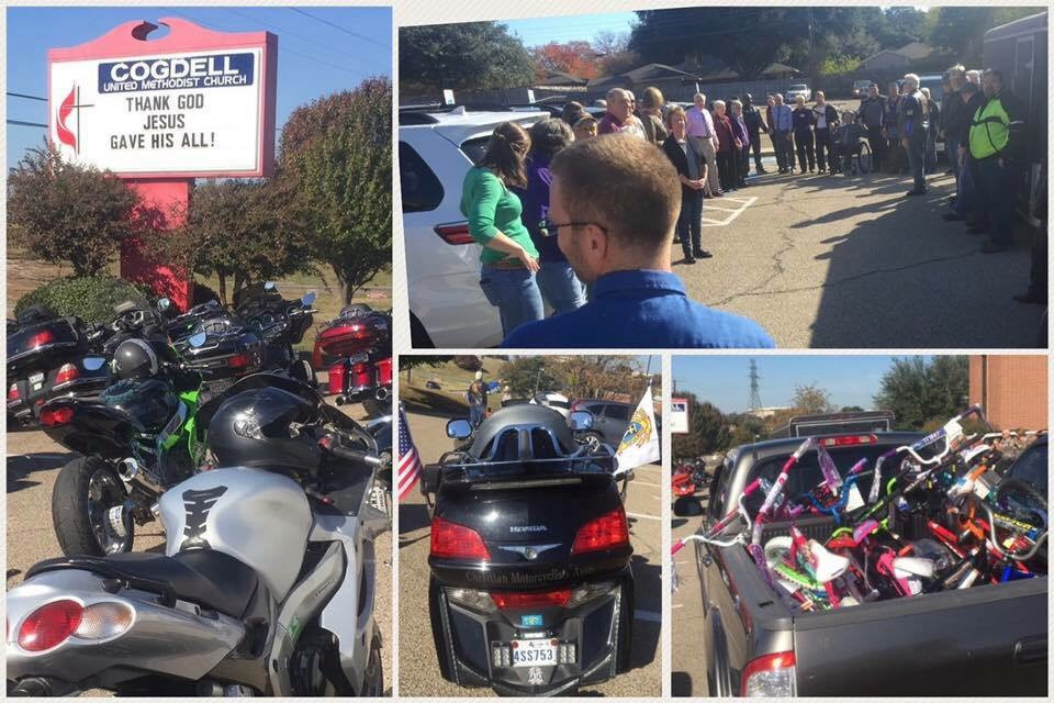 Biker Toy Run | Cogdell Memorial United Methodist Church